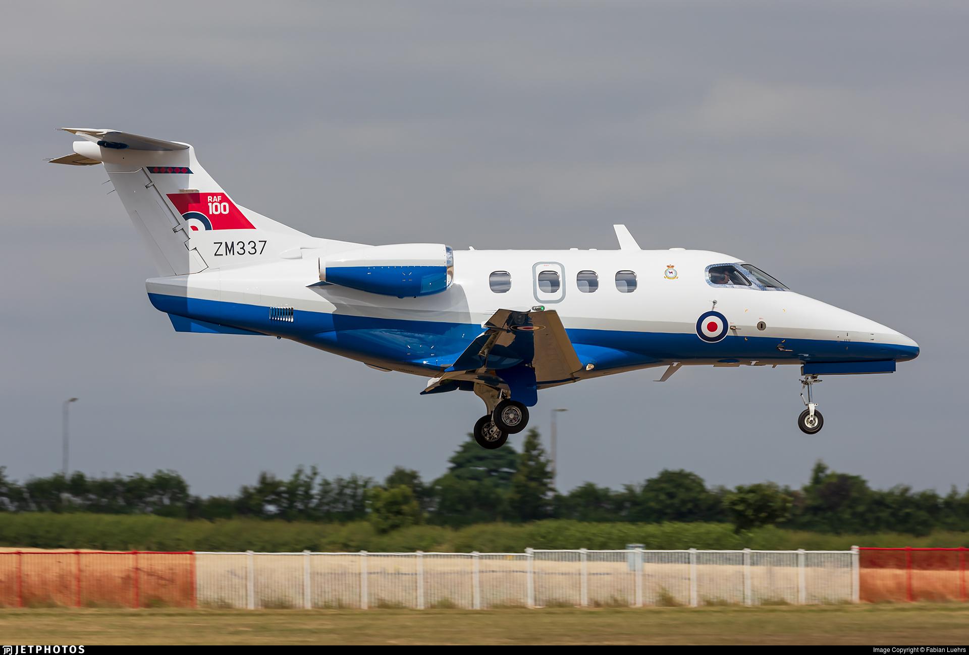 ZM337 - Embraer Phenom T.1 - United Kingdom - Royal Air Force (RAF)