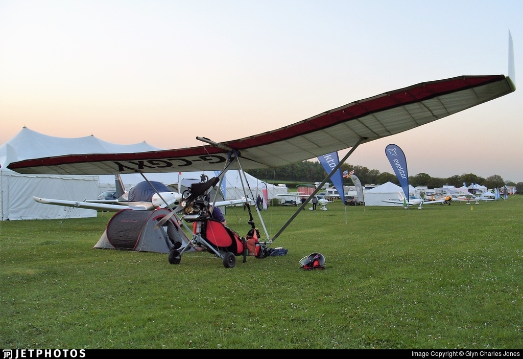 G-CGXY - Flylight Dragonfly - Private