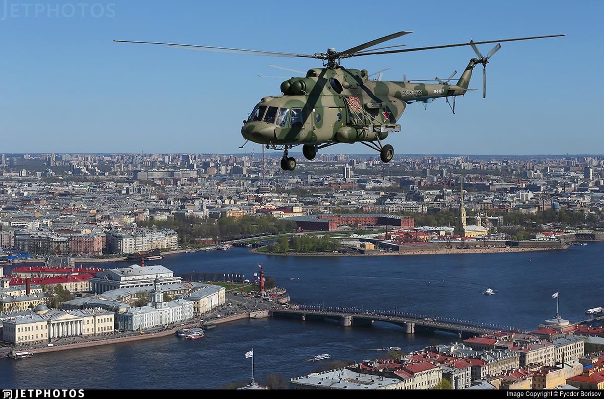 RF-24777 - Mil Mi-8AMTSh Hip - Russia - Air Force