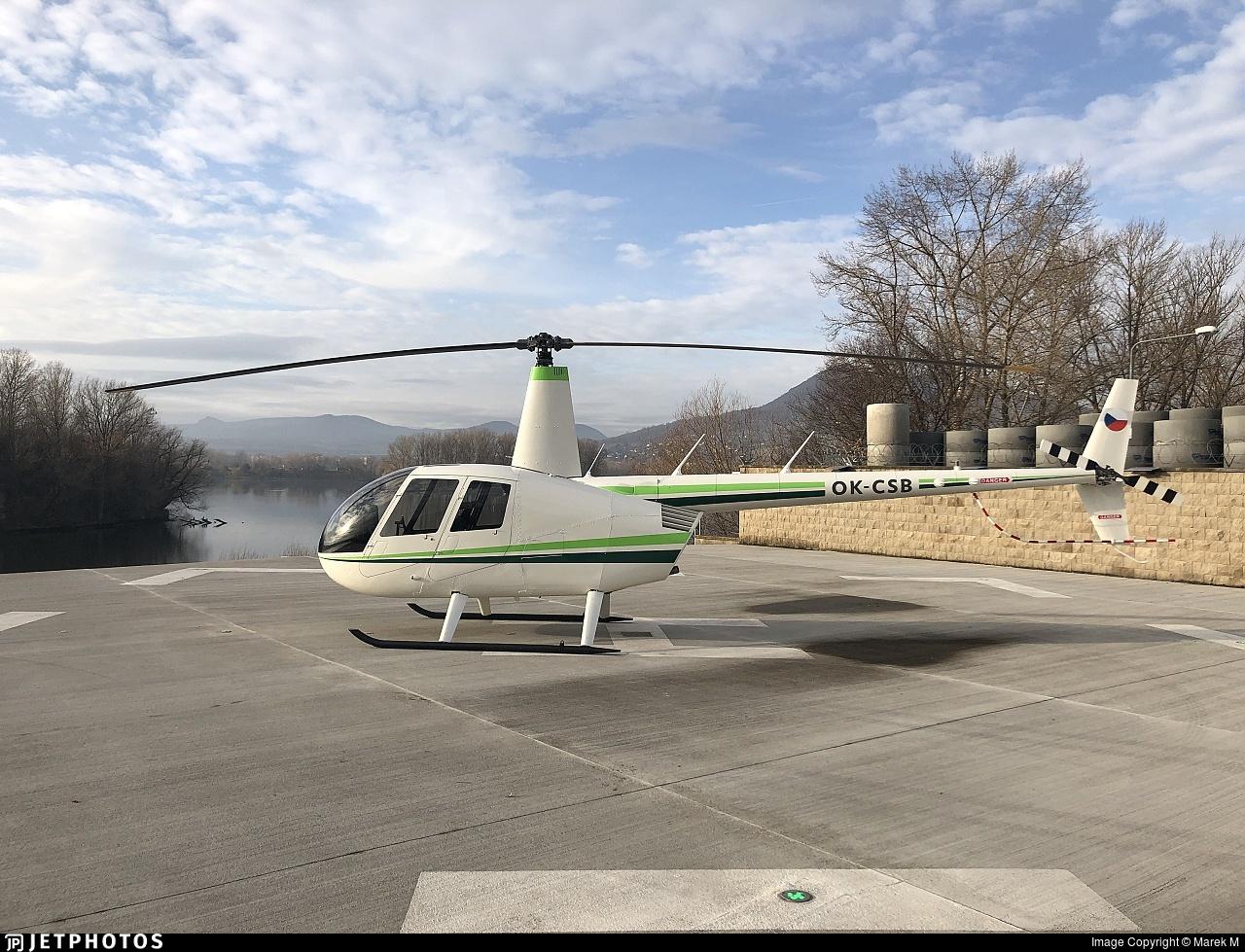 OK-CSB - Robinson R44 Raven II - Private