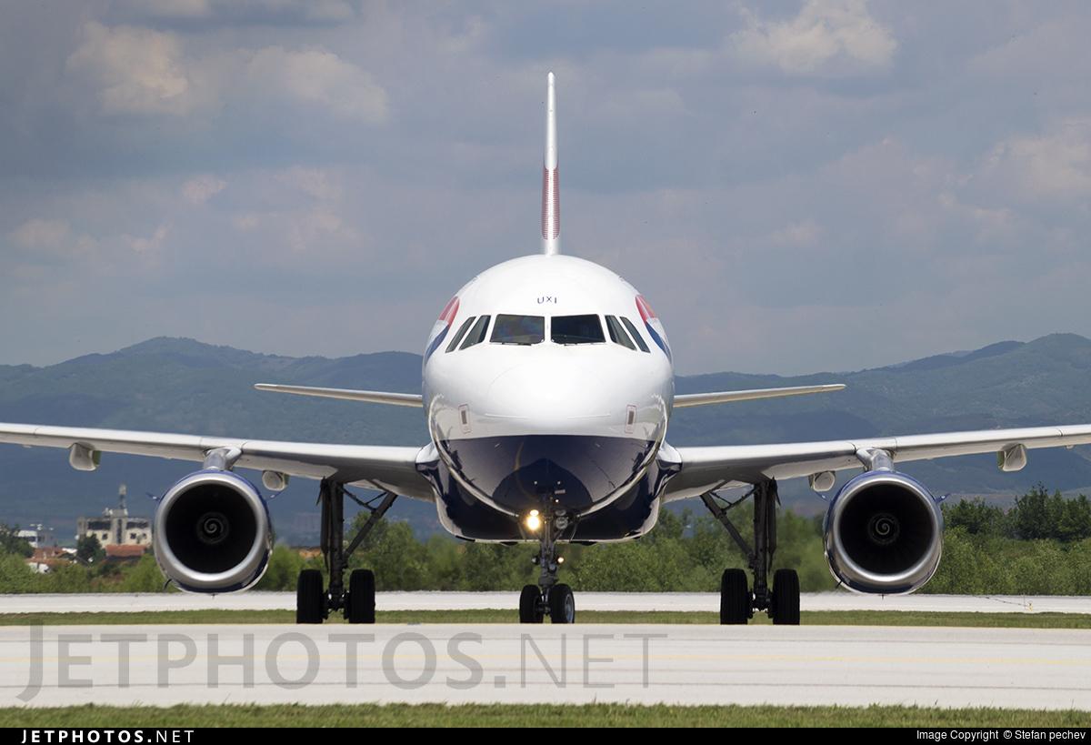G-EUXI - Airbus A321-231 - British Airways
