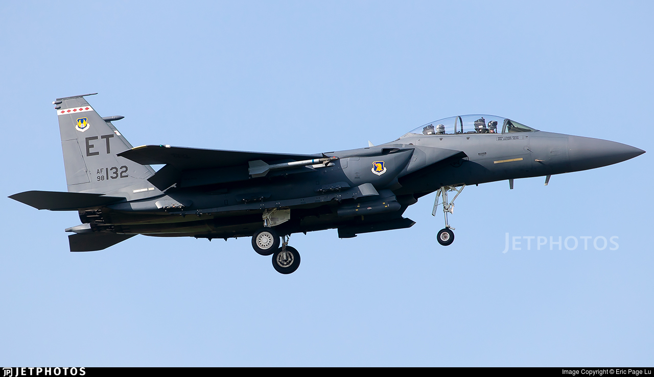 98-0132 - Boeing F-15E Strike Eagle - United States - US Air Force (USAF)