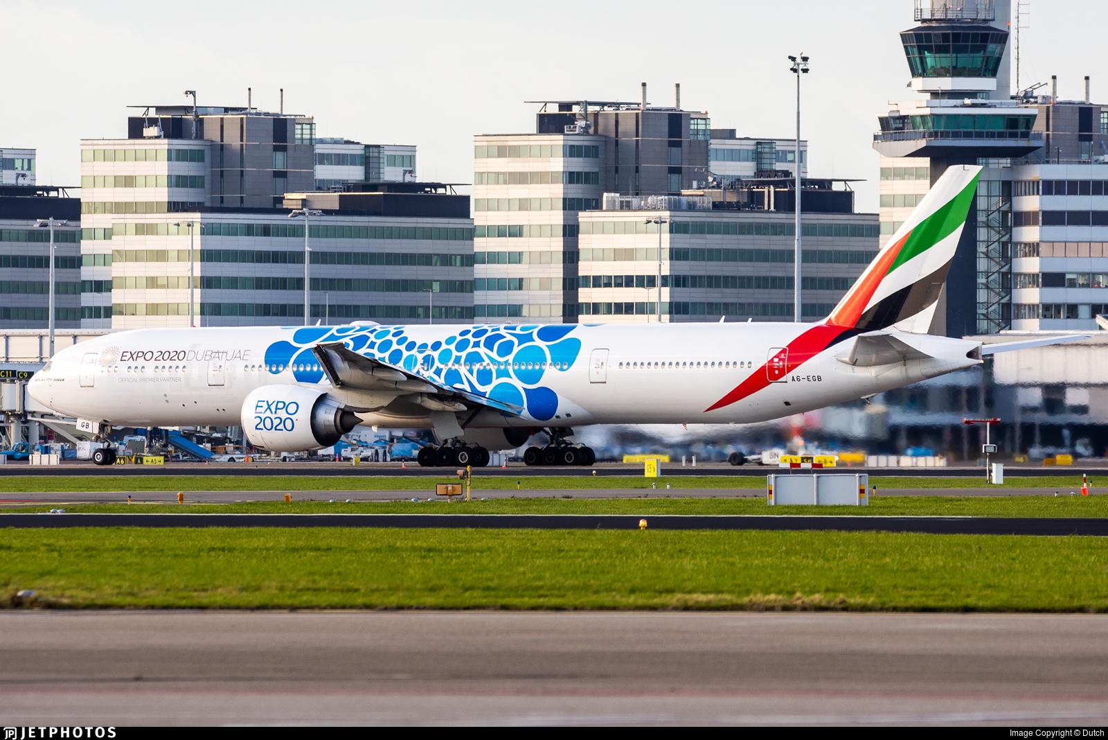 A6-EGB - Boeing 777-31HER - Emirates