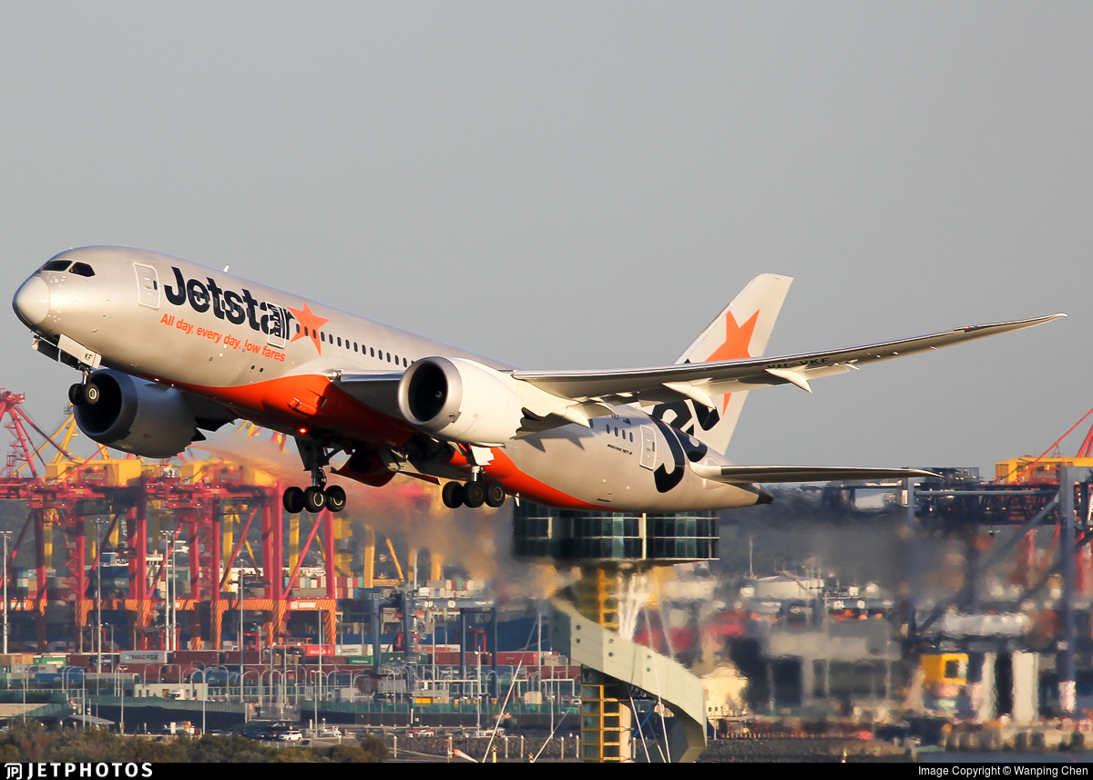 VH-VKF - Boeing 787-8 Dreamliner - Jetstar Airways