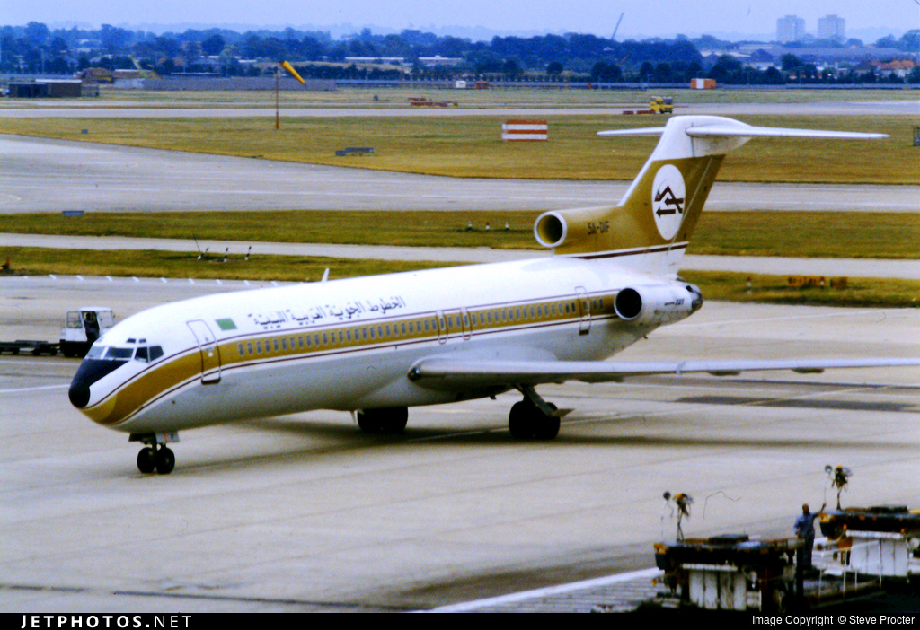 5A-DIF - Boeing 727-2L5(Adv) - Libyan Arab Airlines