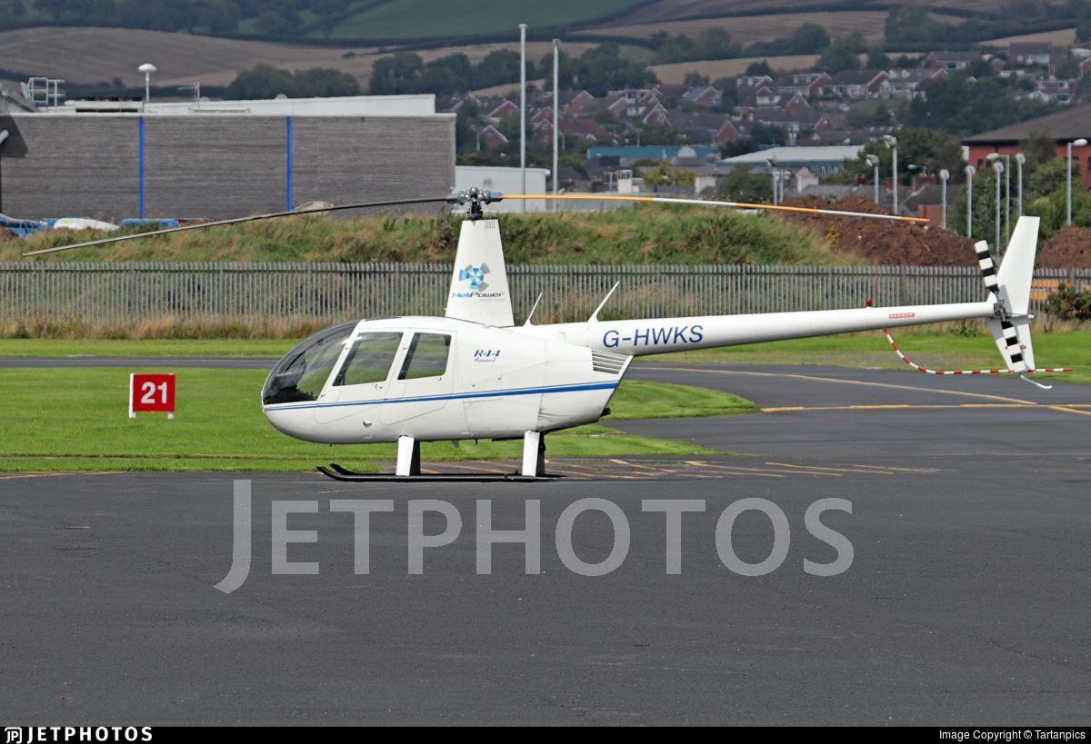 G-HWKS - Robinson R44 Raven - Private