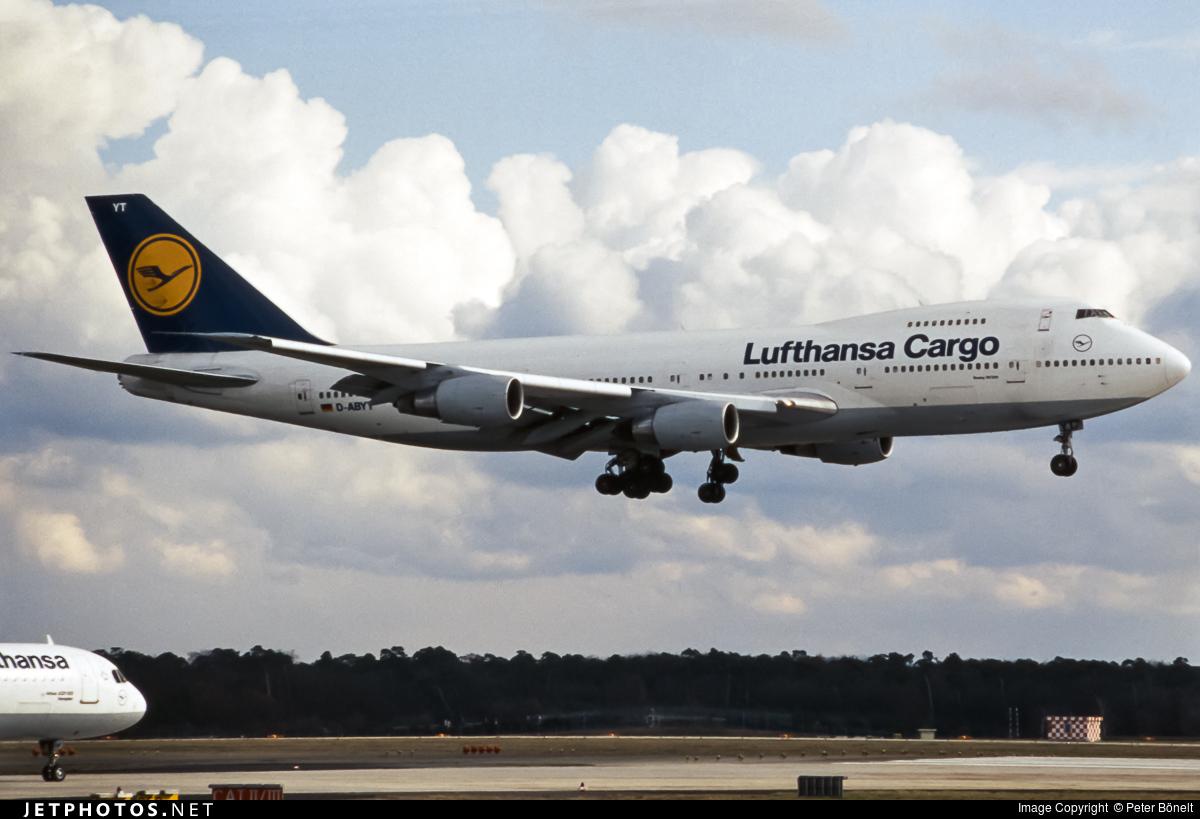 D-ABYT - Boeing 747-230B(SF) - Lufthansa Cargo