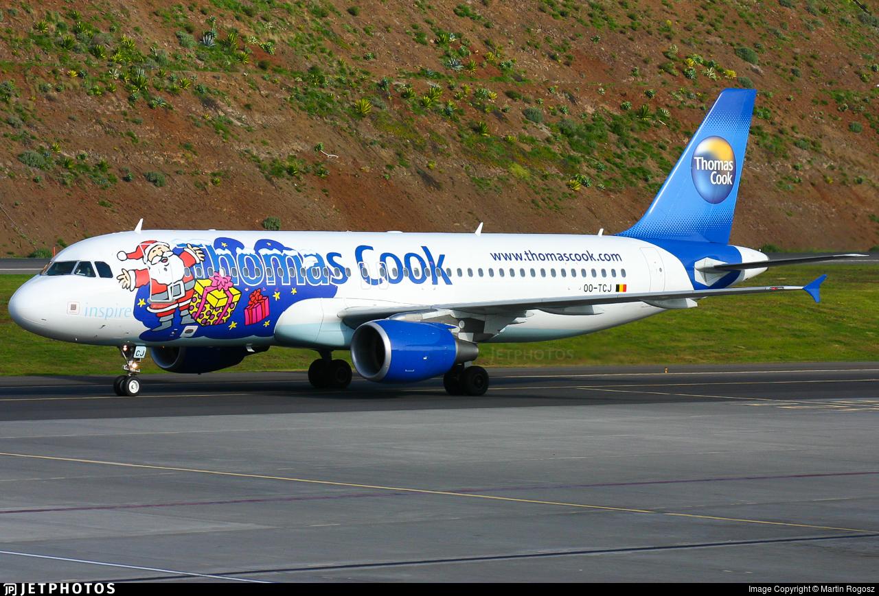OO-TCJ - Airbus A320-214 - Thomas Cook Airlines Belgium