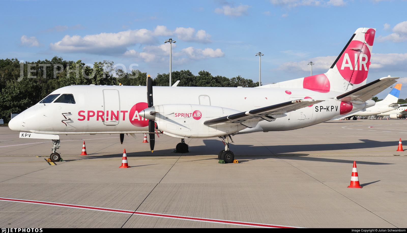 SP-KPV - Saab 340A(F) - SprintAir