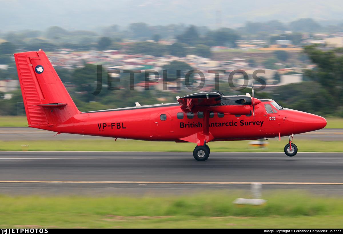 VP-FBL - De Havilland Canada DHC-6-300 Twin Otter - British Antarctic Survey
