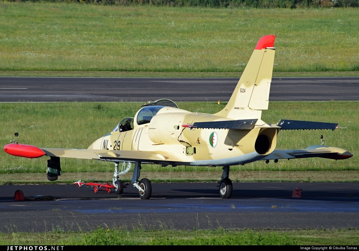 NL-29 - Aero L-39C Albatros - Algeria - Air Force