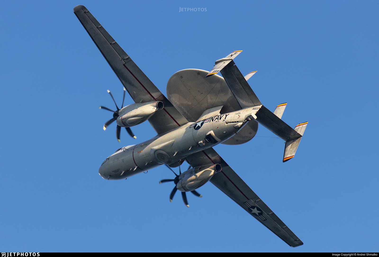 168991 - Grumman E-2D Advanced Hawkeye - United States - US Navy (USN)