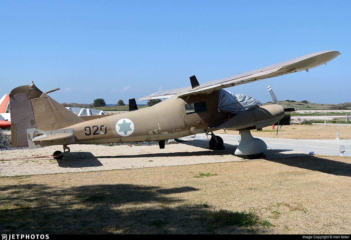 020 - Dornier Do-28B1 Skyservant - Israel - Air Force