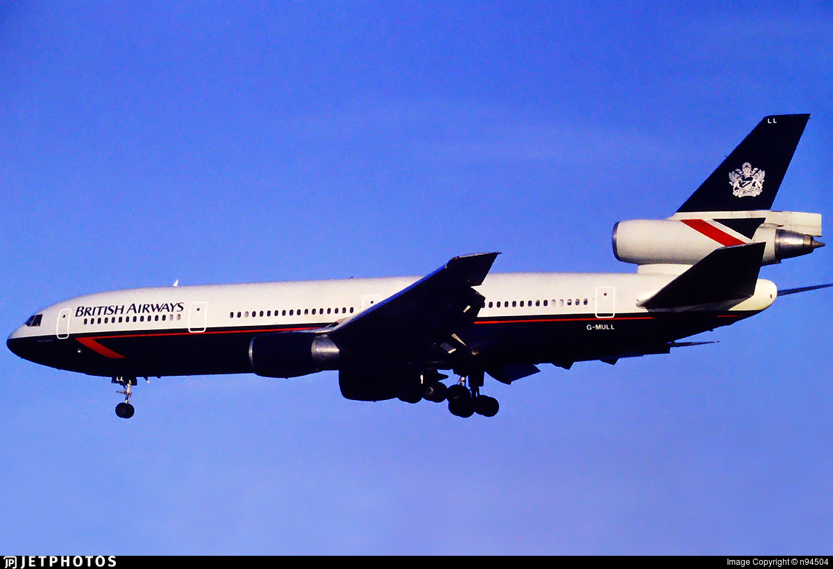 G-MULL - McDonnell Douglas DC-10-30 - British Airways