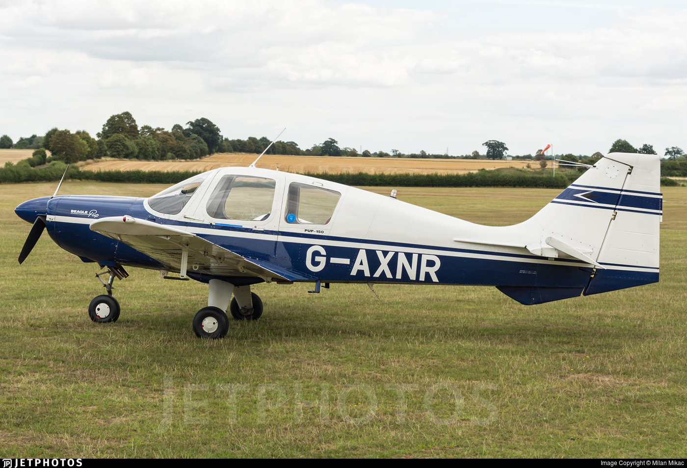 G-AXNR - Beagle B121 Pup - Private