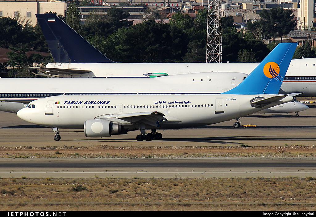 YA-CAV - Airbus A310-304 - Taban Air