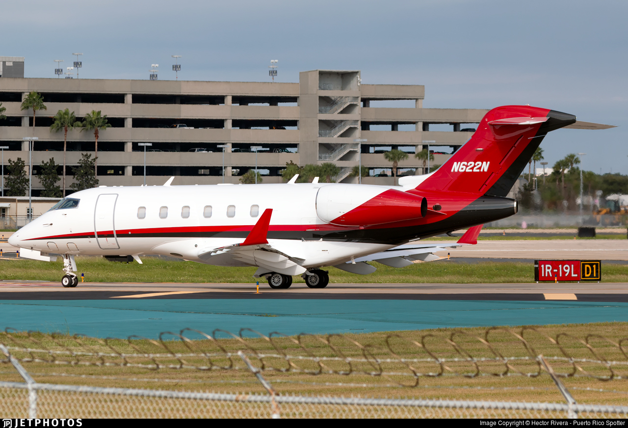 N662N - Bombardier BD-100-1A10 Challenger 300 - Private