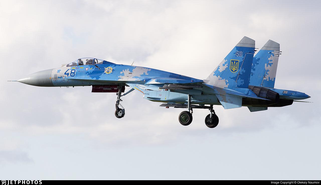 48 - Sukhoi Su-27 Flanker - Ukraine - Air Force