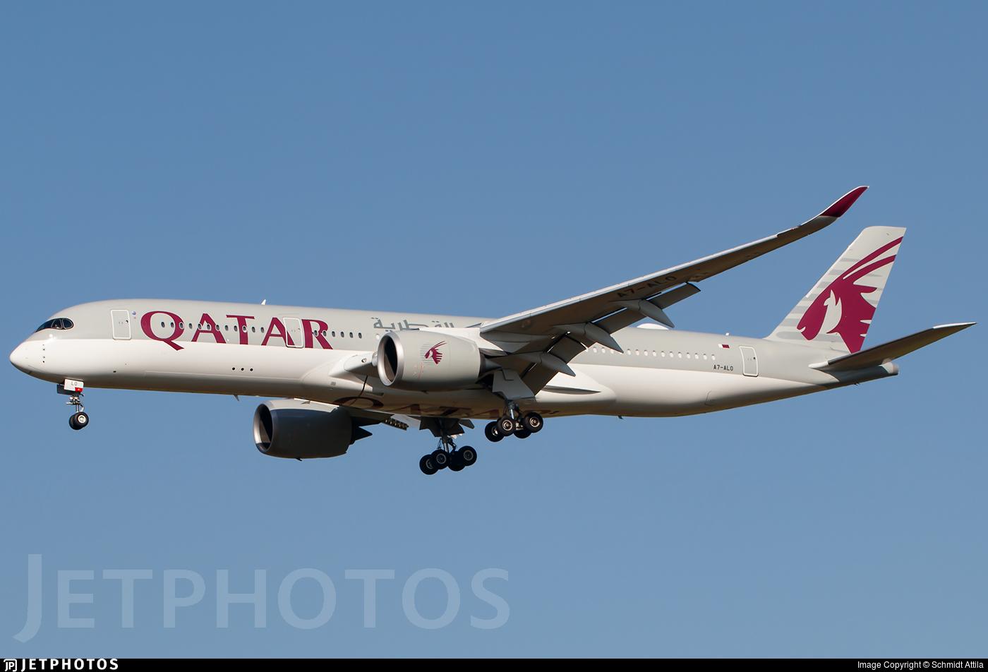 A7-ALO - Airbus A350-941 - Qatar Airways