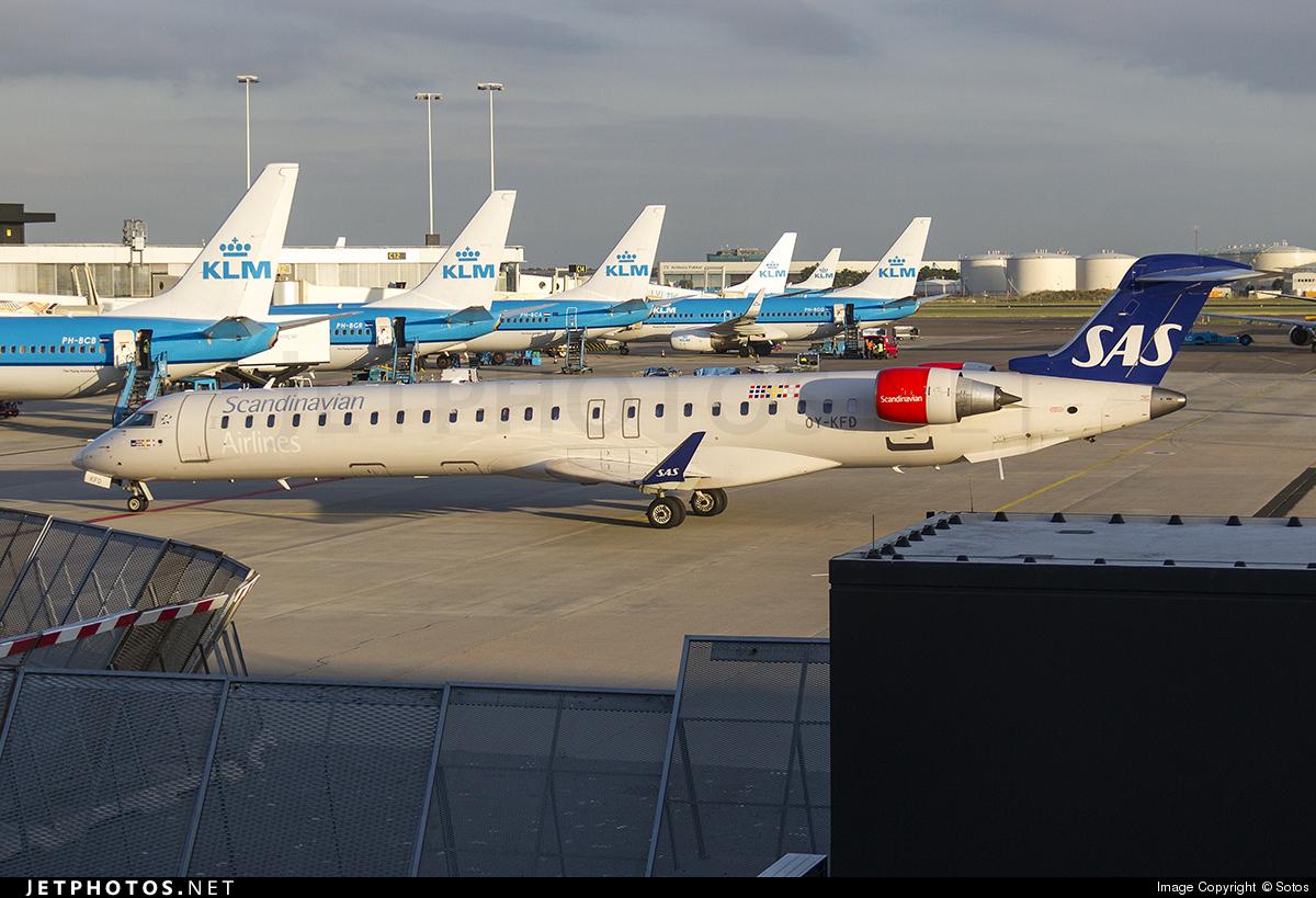 OY-KFD - Bombardier CRJ-900 - Scandinavian Airlines (SAS)
