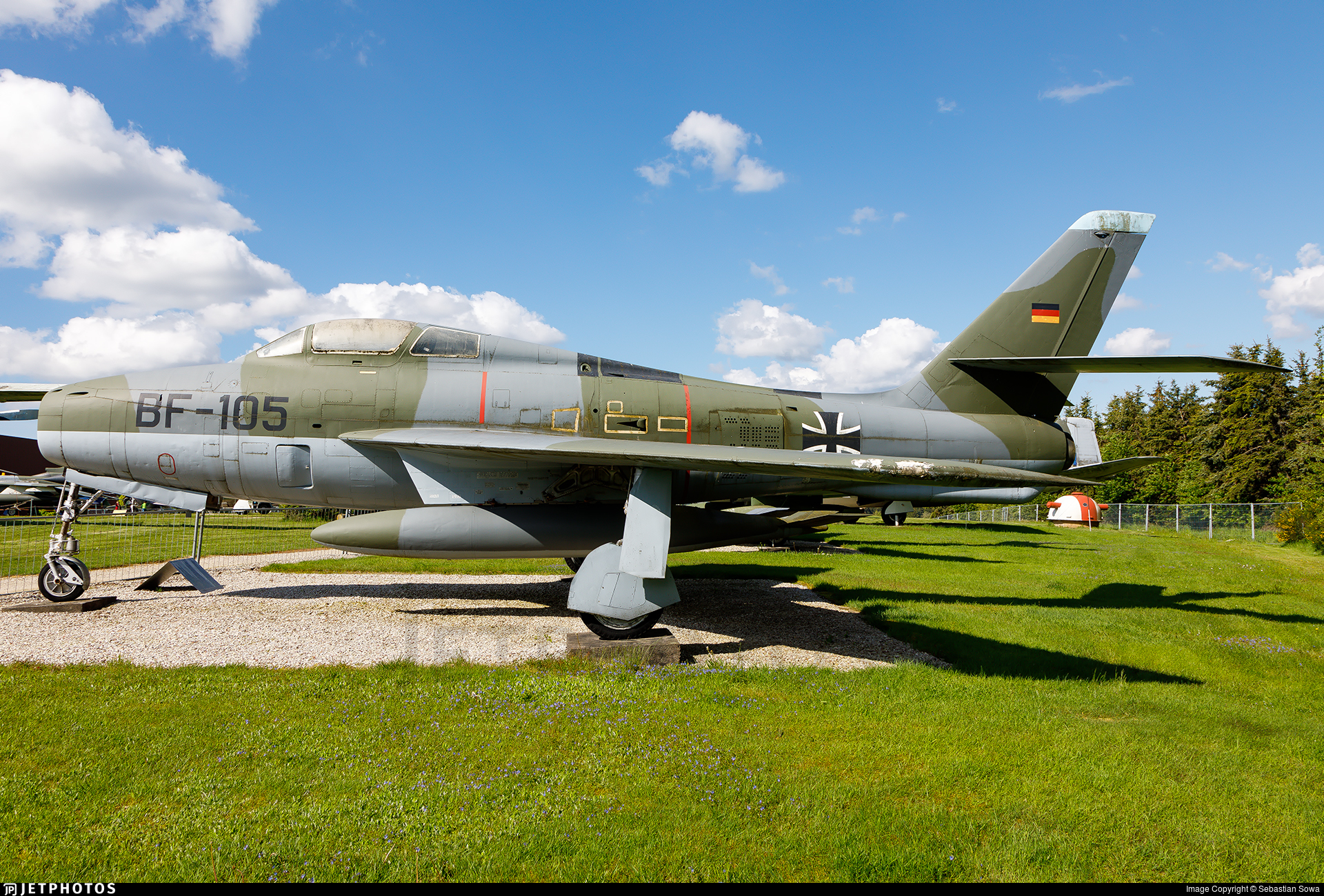 BF-105 - Republic F-84F Thunderstreak - Germany - Air Force
