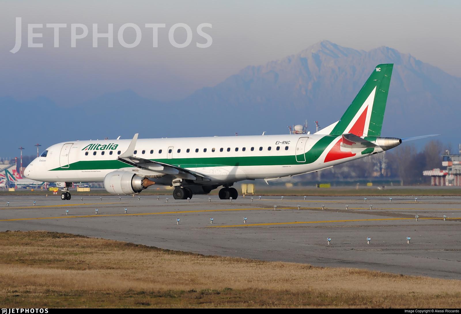 EI-RNC - Embraer 190-100STD - Alitalia CityLiner