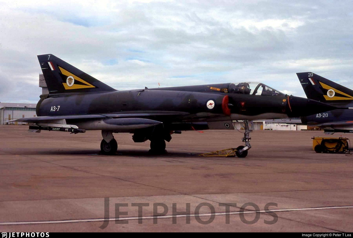 A3-7 - Dassault Mirage 3O - Australia - Royal Australian Air Force (RAAF)