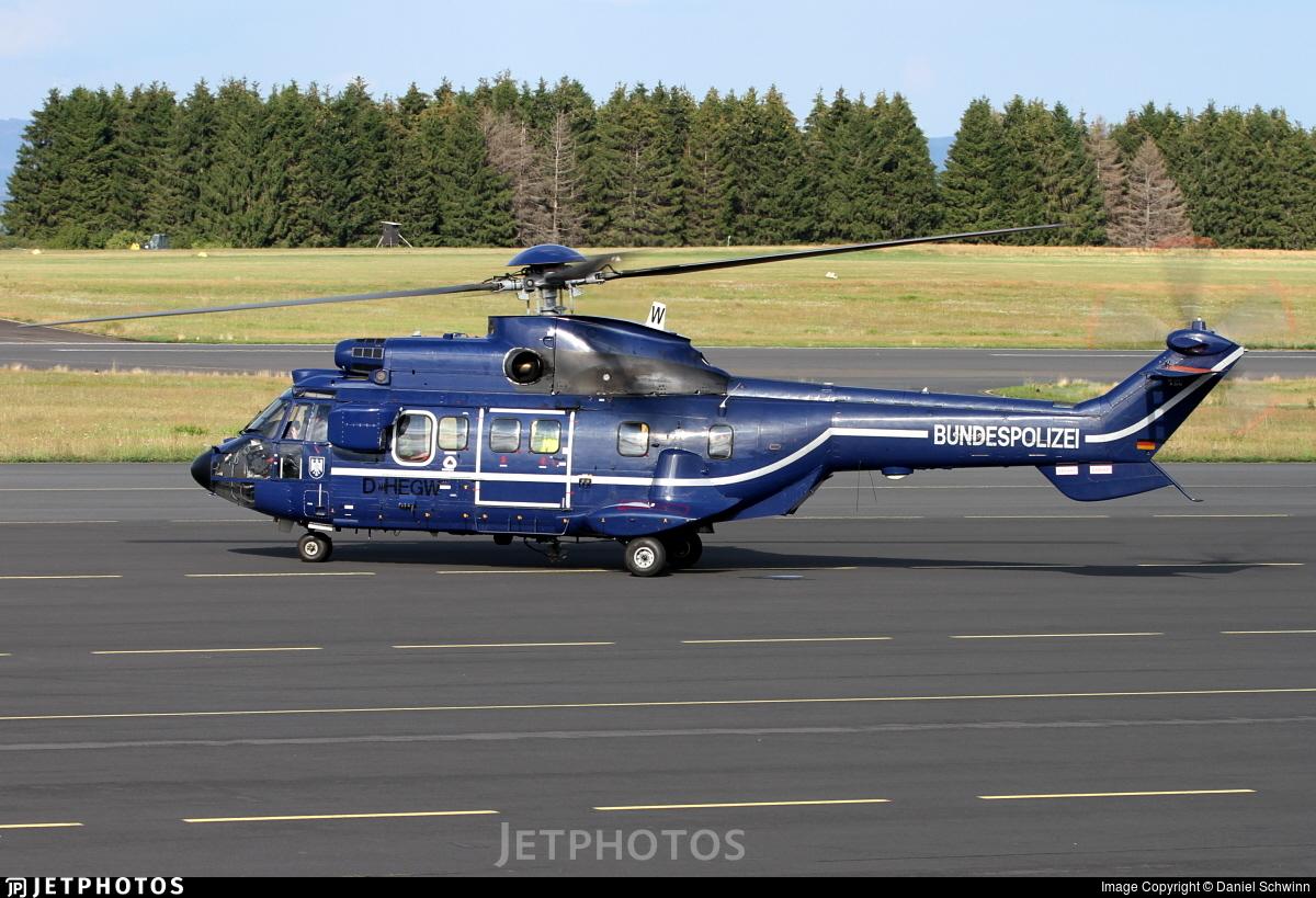 D-HEGW - Aérospatiale AS 332L1 Super Puma - Germany - Bundespolizei