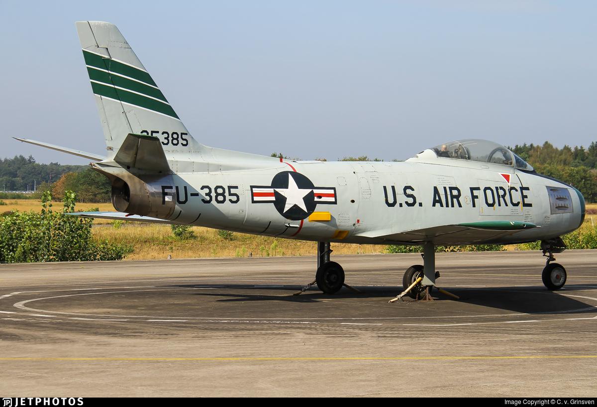 52-5385 - North American F-86F Sabre - United States - US Air Force (USAF)