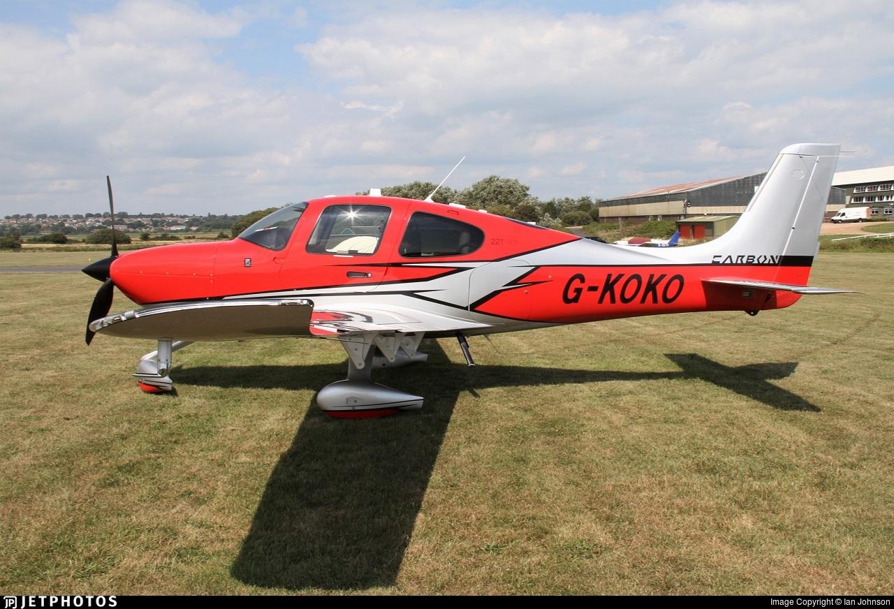 G-KOKO - Cirrus SR22T-GTS G6 Carbon - Private