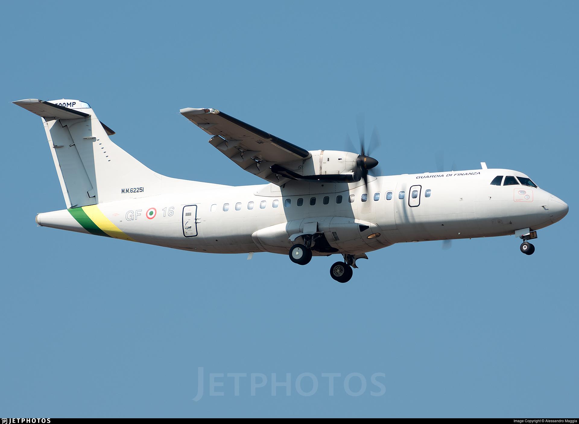 MM62251 - ATR 42-500MP Surveyor - Italy - Guardia di Finanza