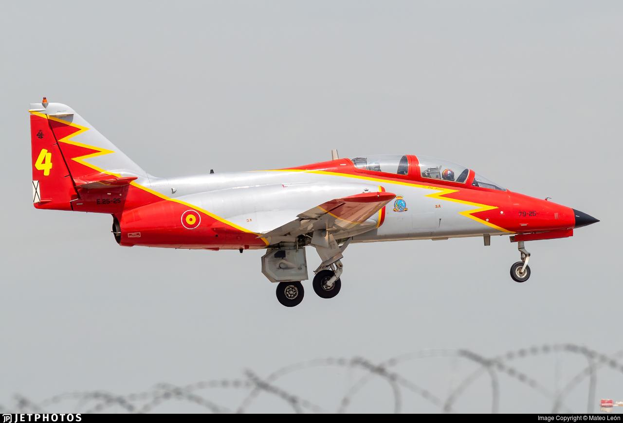 E.25-25 - CASA C-101EB Aviojet - Spain - Air Force