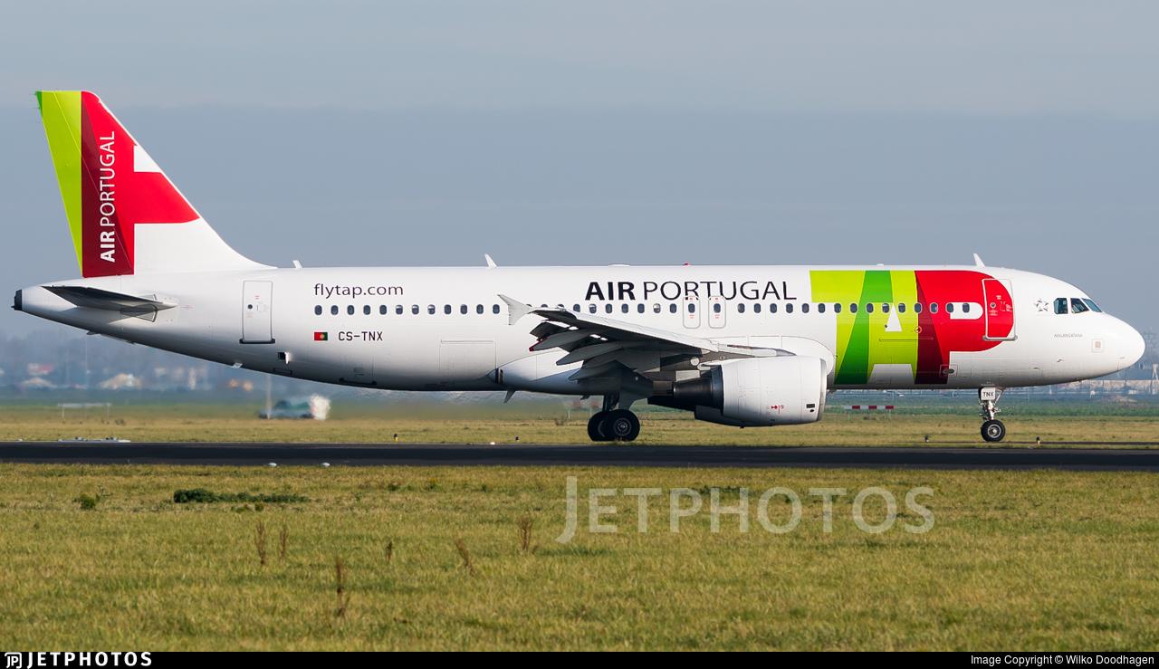 CS-TNX - Airbus A320-214 - TAP Air Portugal