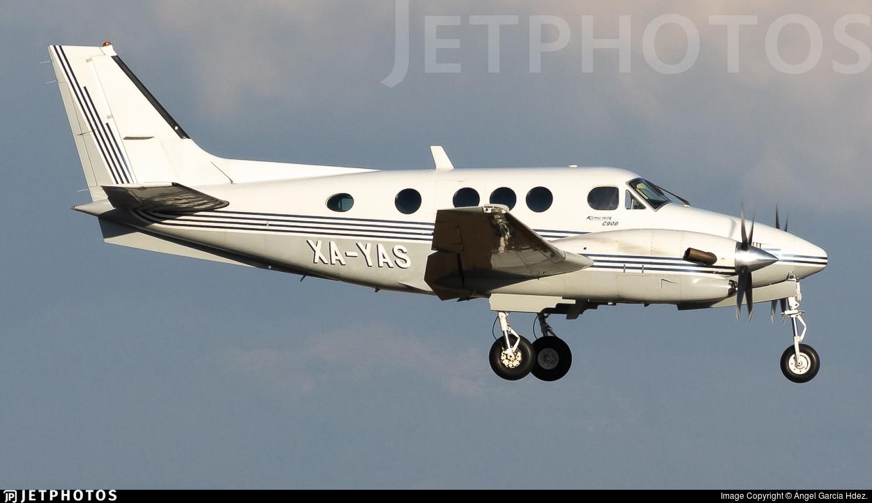 XA-YAS - Beechcraft C90B King Air - Aerolineas Ejecutivas