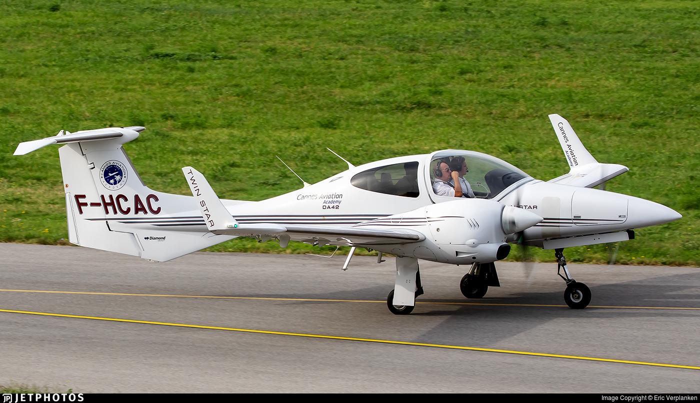F-HCAC - Diamond DA-42 Twin Star - Cannes Aviation