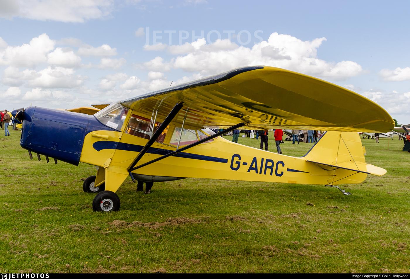 G-AIRC - Auster 5J1 Autocrat - Private