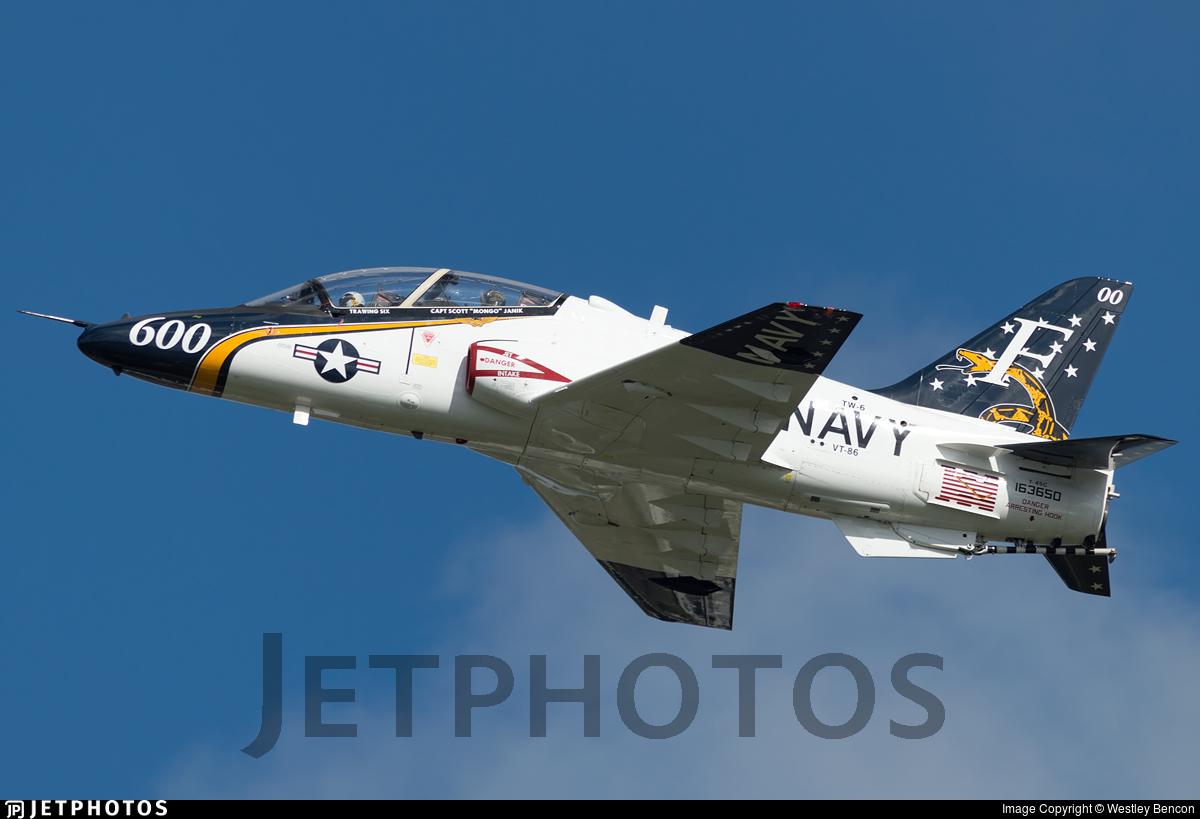 163650 - McDonnell Douglas T-45C Goshawk - United States - US Navy (USN)