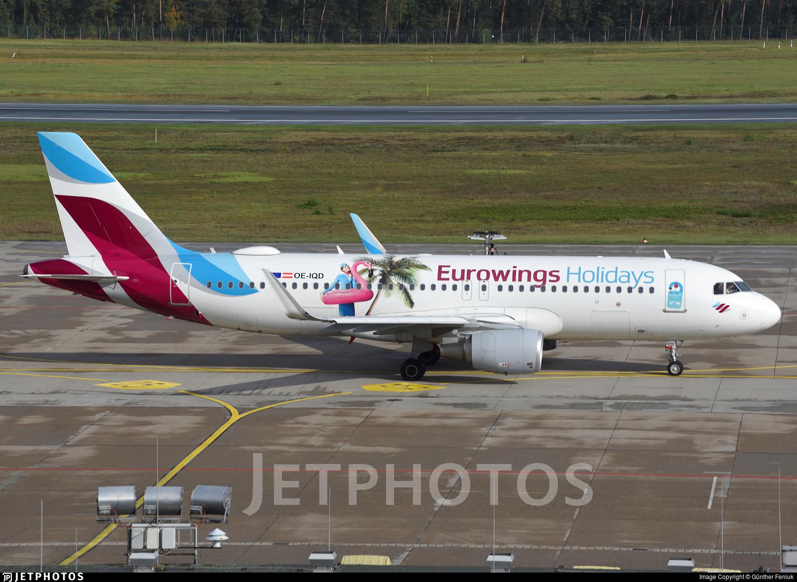 OE-IQD - Airbus A320-214 - Eurowings Europe