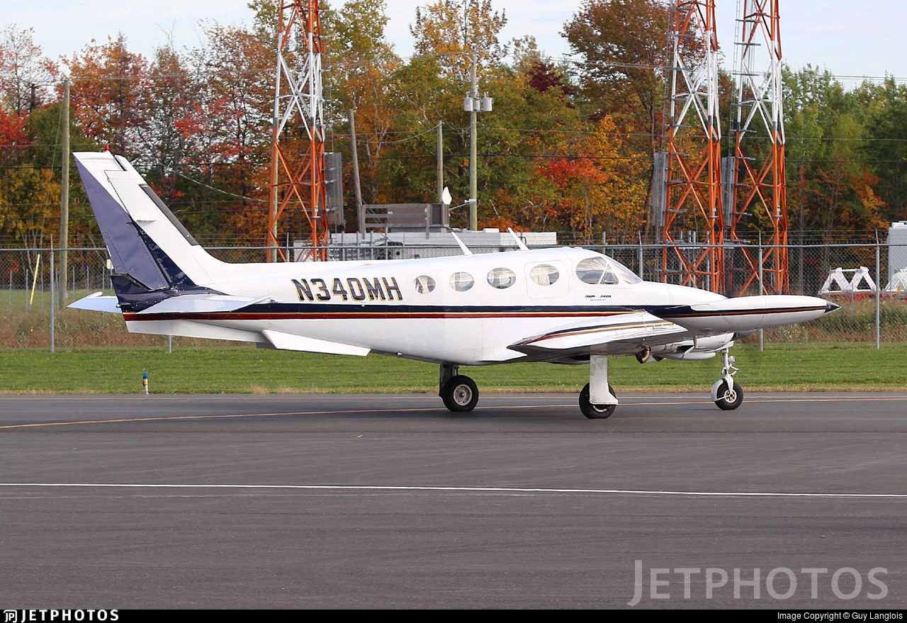 N340MH - Cessna 340A - Private