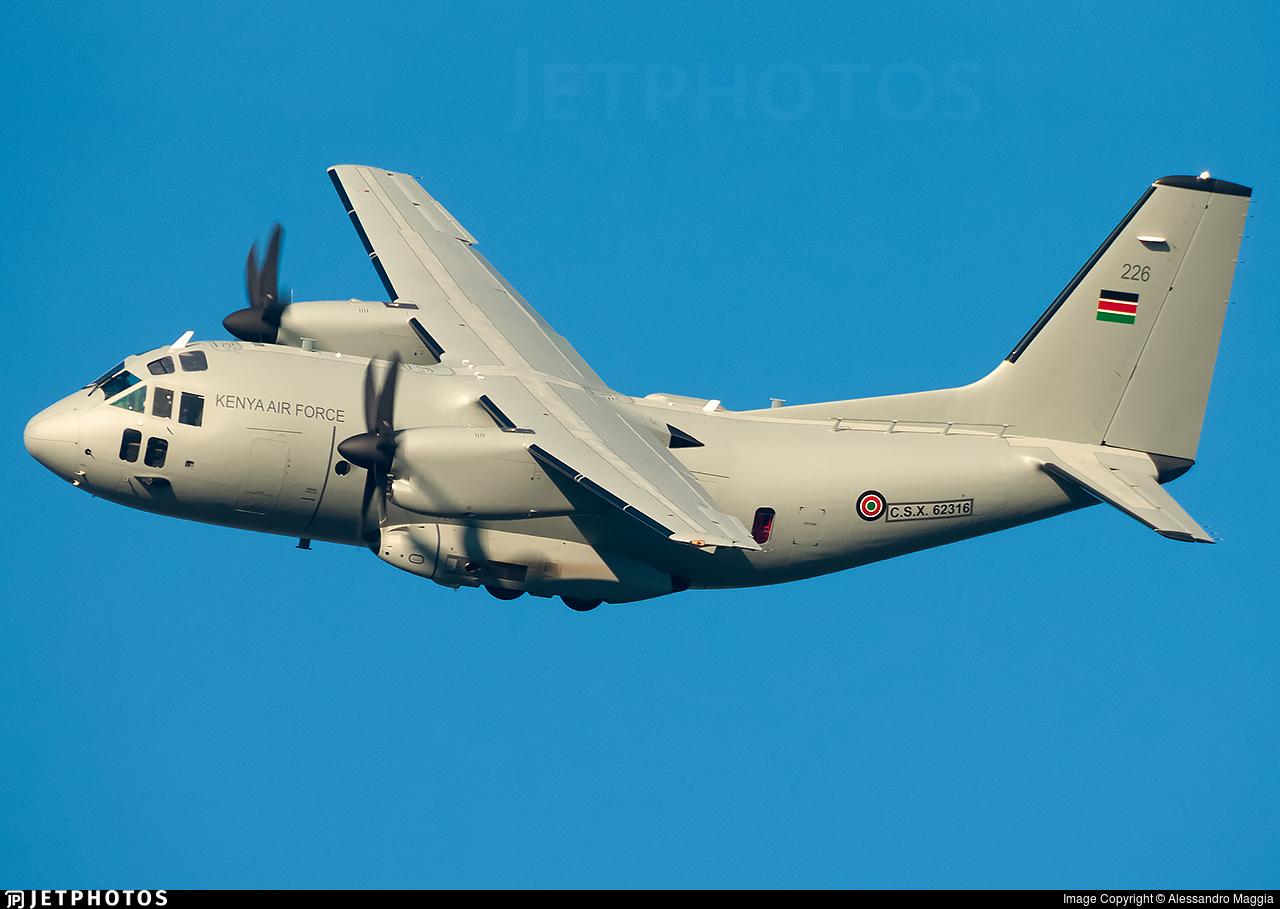 CSX62316 - Alenia C-27J Spartan - Kenya - Air Force