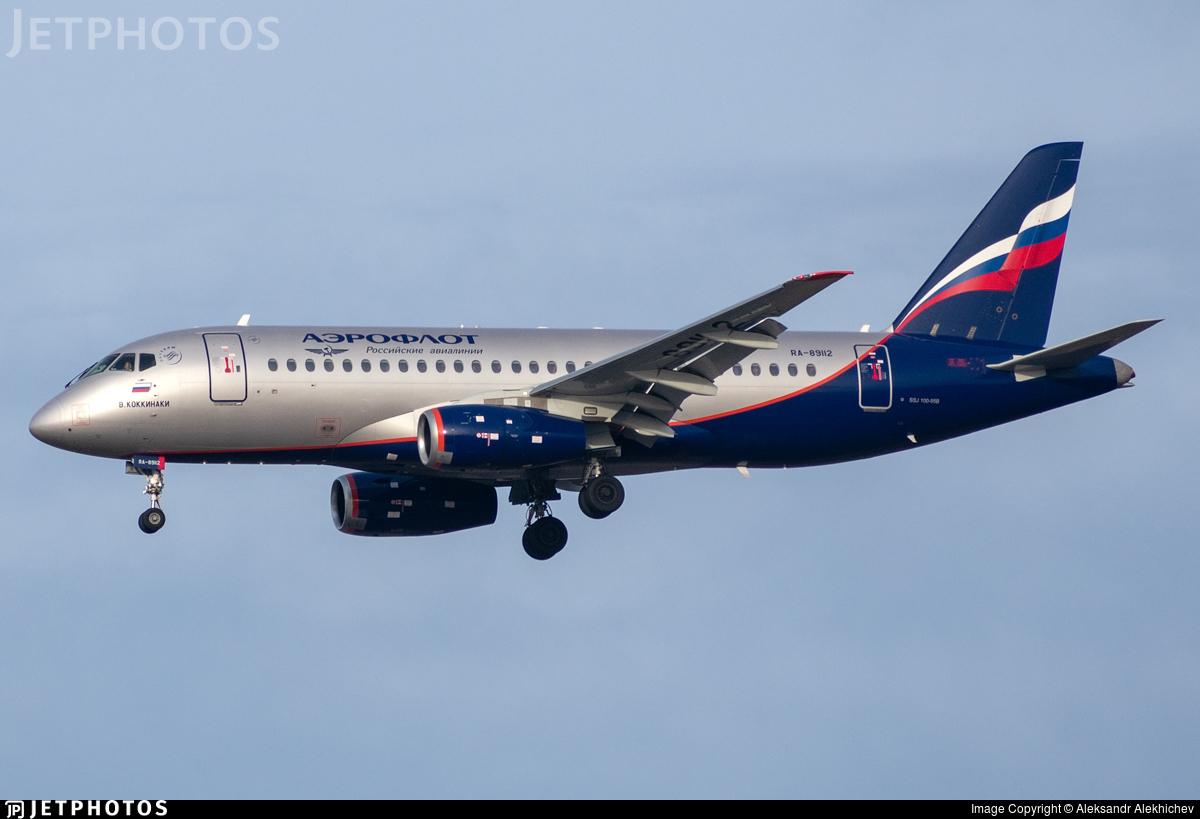 RA-89112 - Sukhoi Superjet 100-95B - Aeroflot