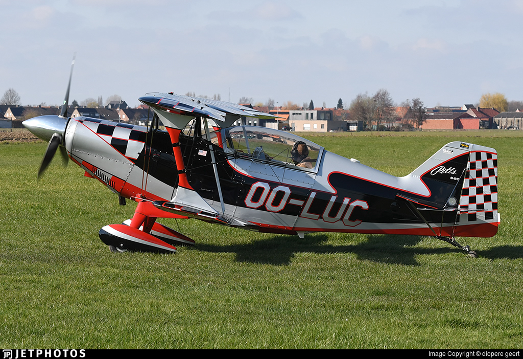 OO-LUC - Pitts S-2C Special - Private