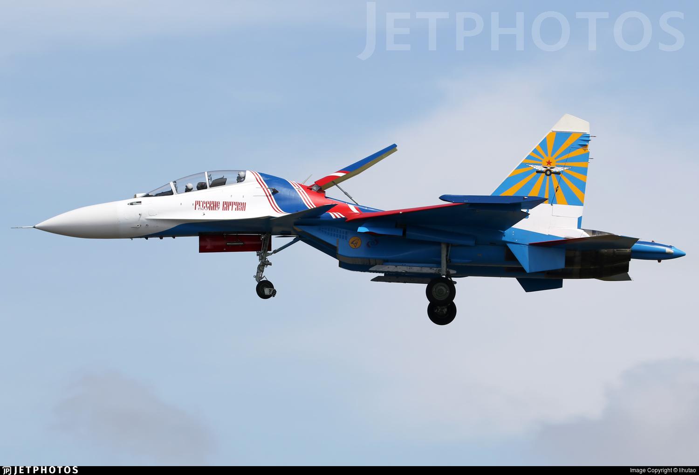 33 - Sukhoi Su-30SM - Russia - Air Force