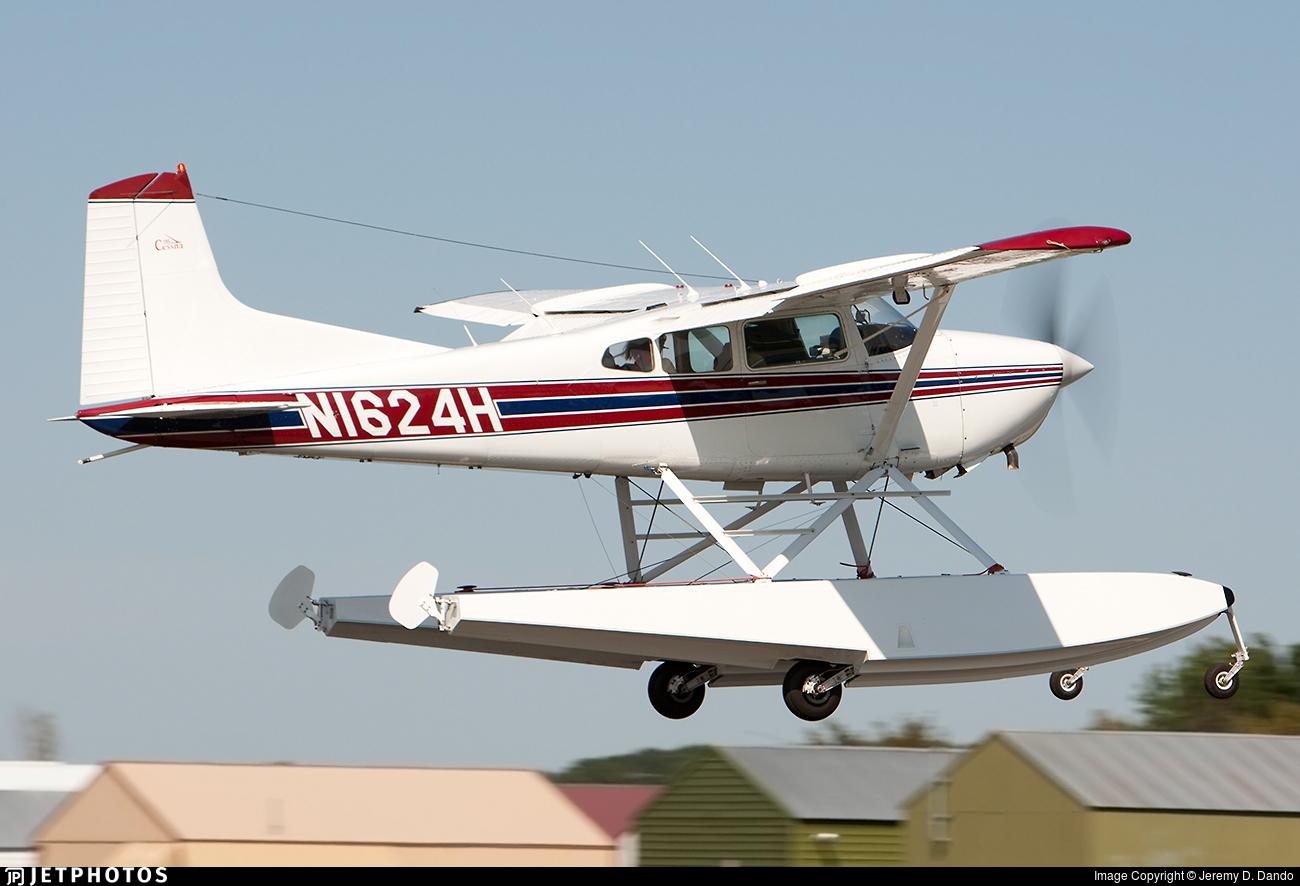 N1624H - Cessna A185F Skywagon - Private