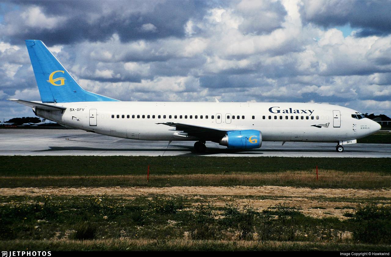 SX-BFV - Boeing 737-430 - Galaxy Airways
