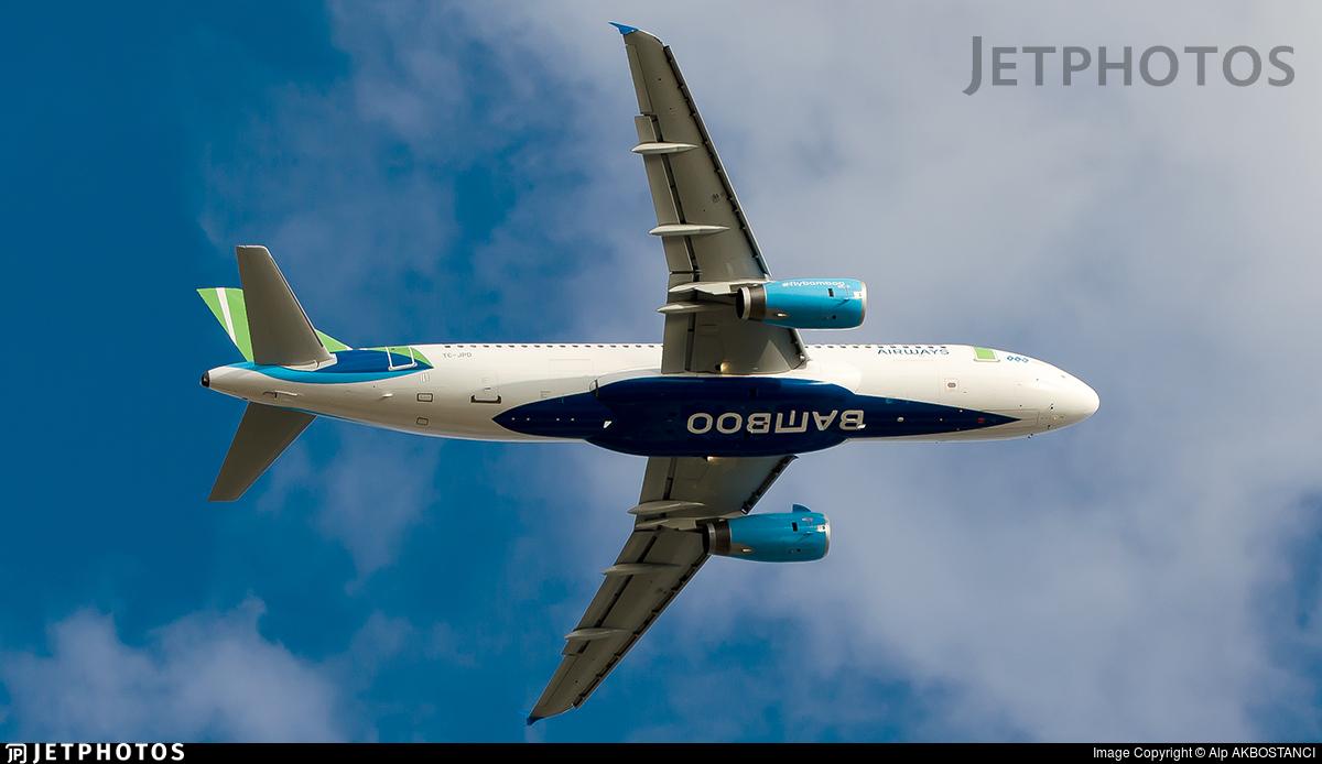 TC-JPD - Airbus A320-232 - Bamboo Airways