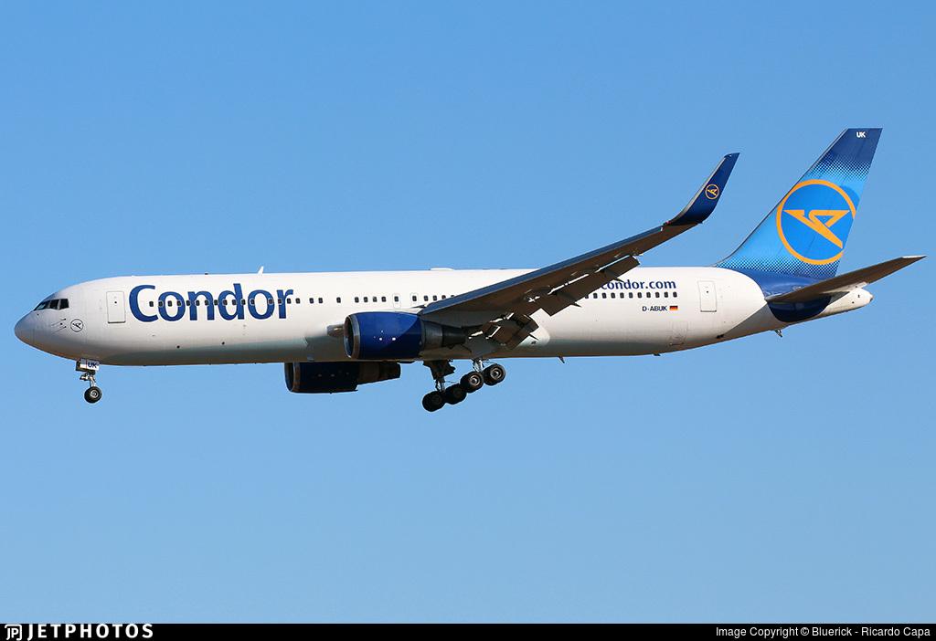 D-ABUK - Boeing 767-330(ER) - Condor