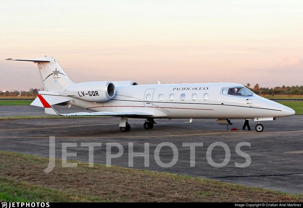 LV-GQR - Bombardier Learjet 60 - Pacific Ocean Private Flights