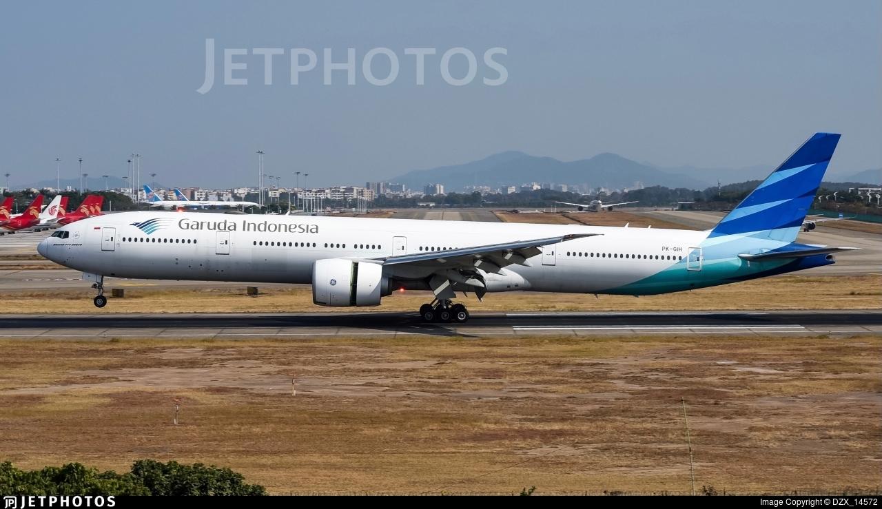 PK-GIH - Boeing 777-3U3ER - Garuda Indonesia