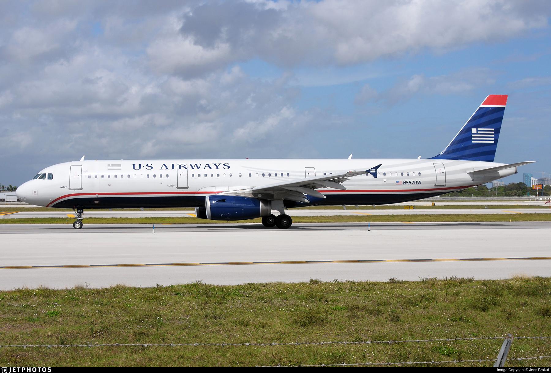 N557UW - Airbus A321-231 - US Airways